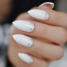 Pointed Acrylic Nail Designs-8