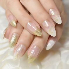Pointed Acrylic Nail Designs-15