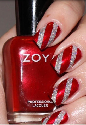 Surprise Christmas Nail Art Idea-6