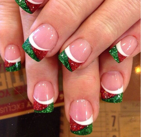 Surprise Christmas Nail Art Idea-7