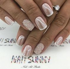 Wedding Nail Design-1