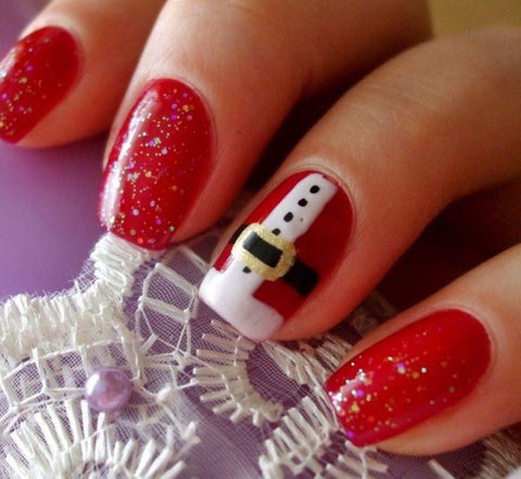 Surprise Christmas Nail Art Idea-10