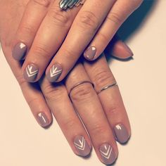 Taupe Nail Designs-11