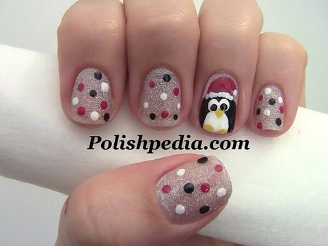 Christmas Nail Art Design-2