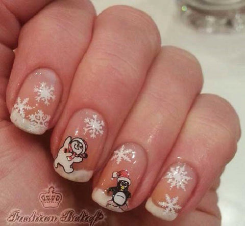Christmas Nail Art Design-5