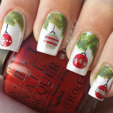 Christmas Nail Art Design-6