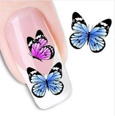 butterfly nail design-1