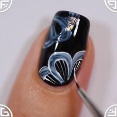 butterfly nail design-3