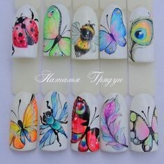 butterfly nail design-4