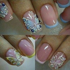 butterfly nail design-5