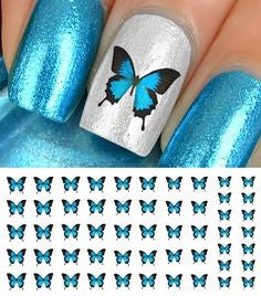 butterfly nail design-6