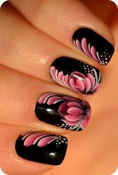 butterfly nail design-7