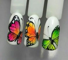 butterfly nail design-8