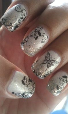 butterfly nail design-10
