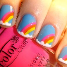 Easy nail art designs for kids-1