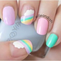 Easy nail art designs for kids-2