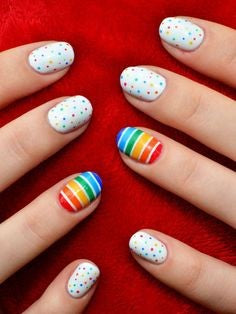 Easy nail art designs for kids-3