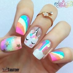Easy nail art designs for kids-5