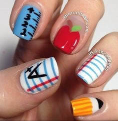 Easy nail art designs for kids-6