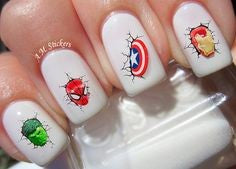 Easy nail art designs for kids-7