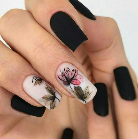 Top 100+ Spring Floral Nail Designs For 2019 | BeautyBigBang