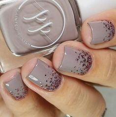 Taupe Nail Designs-3