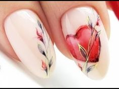 Valentine day nails-10