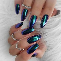 Metallic Mirror Nails-6