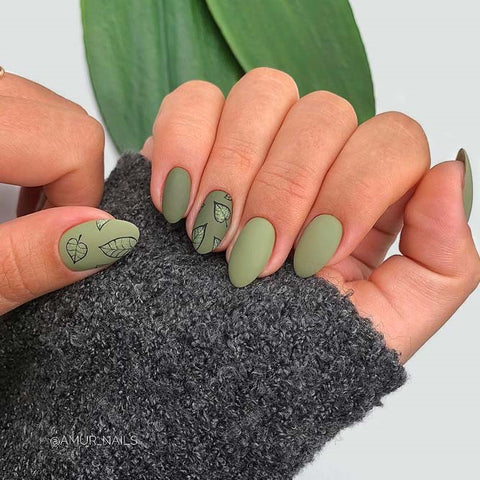 Light Green Nail Designs
