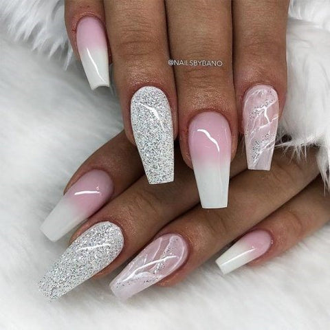 Amazing Designs for Coffin Nail Shape