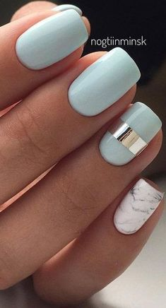 Cute Summer Nail Color Idea-7