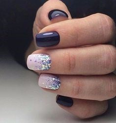Purple Nail Design-2