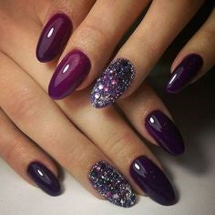 Purple Nail Design-6