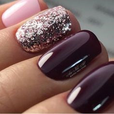 Purple Nail Design-7