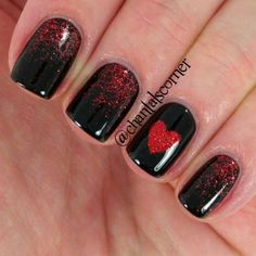 Valentine day nails-6