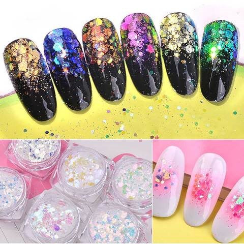 unicorn powder nails-1