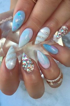 unicorn powder nails-2