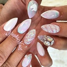 unicorn powder nails-5