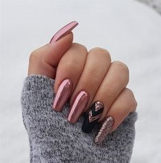 Best Mirror Nail Design-4