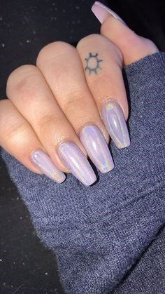 Best Mirror Nail Design-7