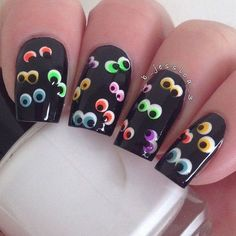 Ghost Nail Art Design-6