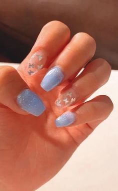 Pretty Nail Design-3 Star nails