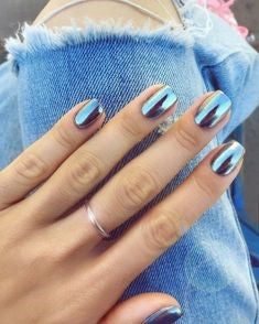 Best Mirror Nail Design-14