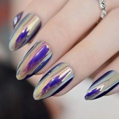 Best Mirror Nail Design-16