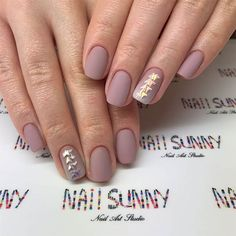 Taupe Nail Designs-13