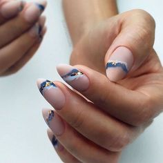 Navy Summer Nail Designs