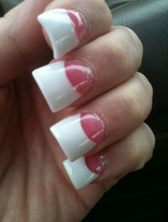 White French Tip Nail Design-14
