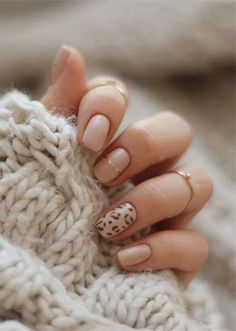 Leopard Short Nails