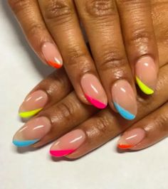 Colorful Summer Nail Designs