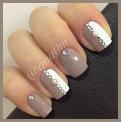 Taupe Nail Designs-5
